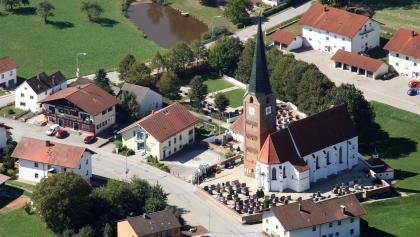 Pfarrkirche St. Maria-St. Philippus- St. Jakobus in Wittibreut