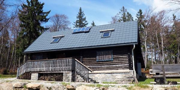 Jagdhütte 1180m am Nordwaldkamm-Weg