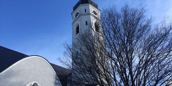 Herz-Jesu-Kirche in Bruckmühl