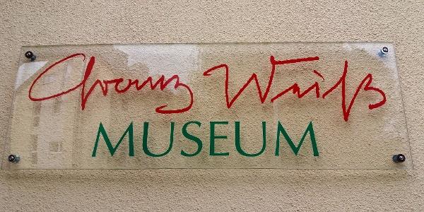 Franz-Weiß-Museum: Schild