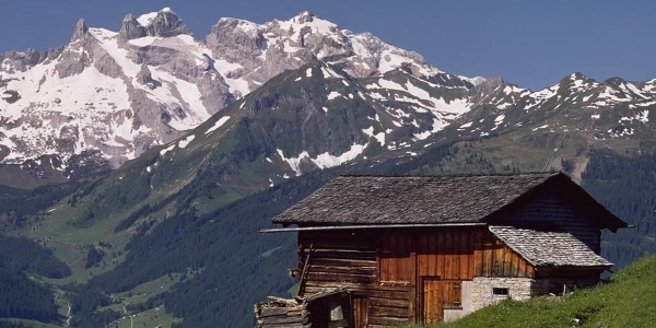 Alphütte m. Drei Türme