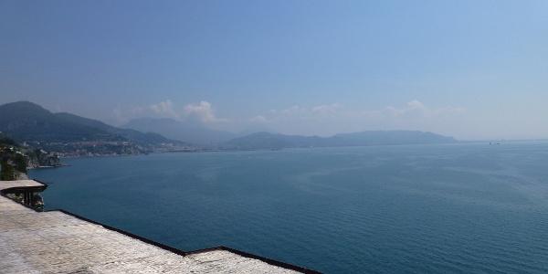 Der Golf von Salerno