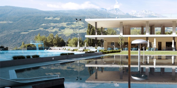 Outdoor pool Silandro/Schlanders
