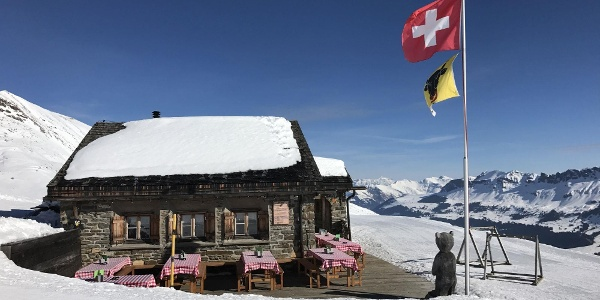 June Hütte Winter