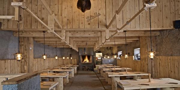 Restaurant Stalla, Alp Nagens