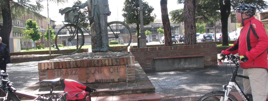Denkmal Lumpensammler in Gambettola