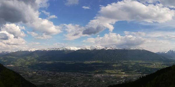 Panorama Thaurer Alm