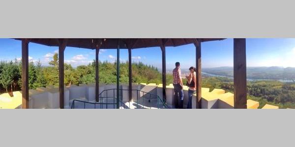 Rundumblick von der Donauwarte des ÖTK