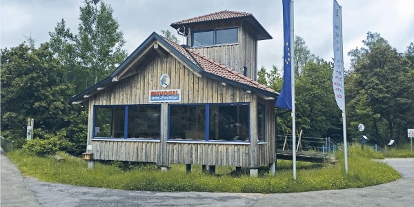 Nagoldtalsperre oberer See - Infopavillon Eisvogelpfad