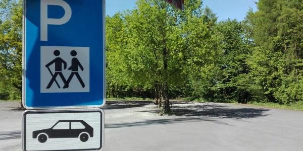 Wanderparkplatz im Teutoburger Wald