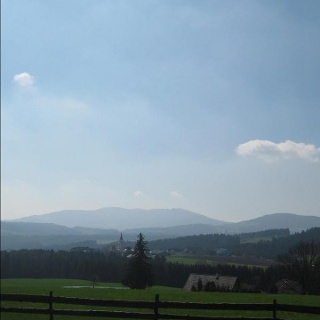 Blick von Bratlalm nach Wenigzell