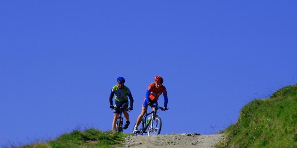 Challenging cycle trail in Aletsch Arena