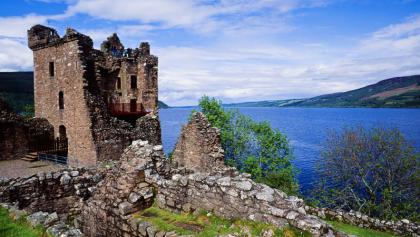 Urquhart Castle on the Great Glen Way