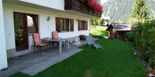 Terrasse - Wohnung Nr. 2