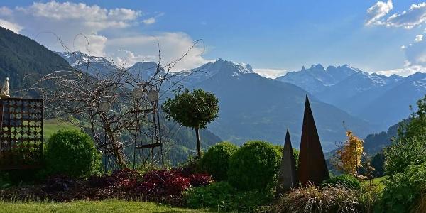 Gartenanlage - Montafoner Bergwelt