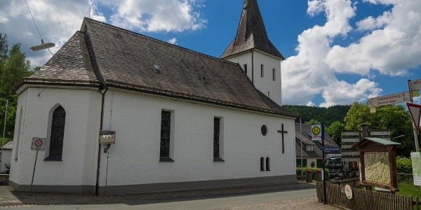 Kirche St. Blasius in Westfeld