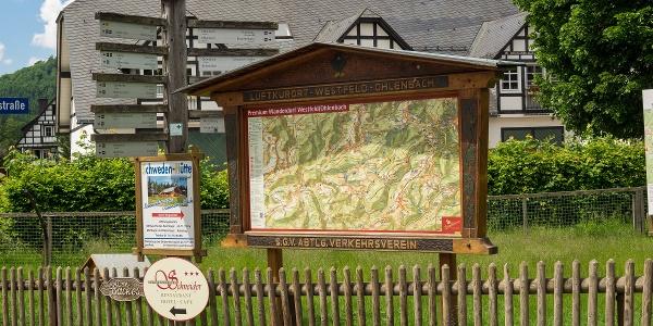 Wanderportal in Westfeld