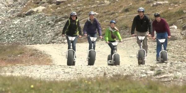 Dirtscooter auf Schwarzsee
