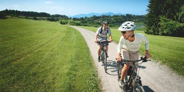 Radfahren im Allgäu auf der Radrunde Allgäu