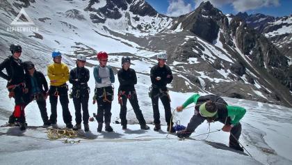 Hochtourenkurs auf dem Taschachhaus mit Alpine Welten
