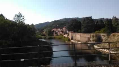 Bistagno lato sul fiume (km 0.37)