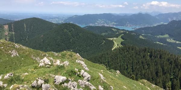 Blick Richtung Tegernsee