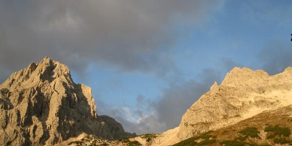 Spitzmauer und Brotfall im Morgenlicht (06.10.2014)