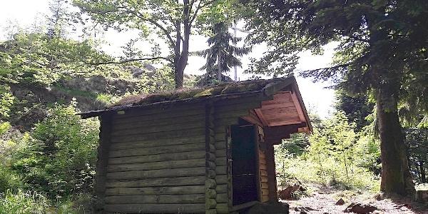 Schutzhütte am Mühlriegel