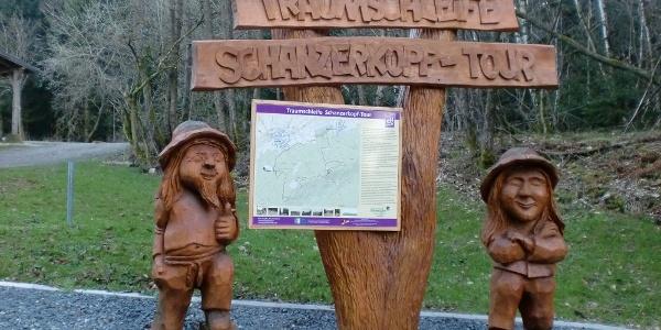 Infotafel an der Schanzerkopf-Tour