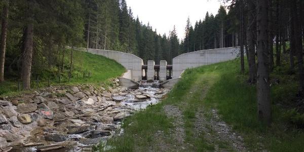 Wassersperre Plareitbach