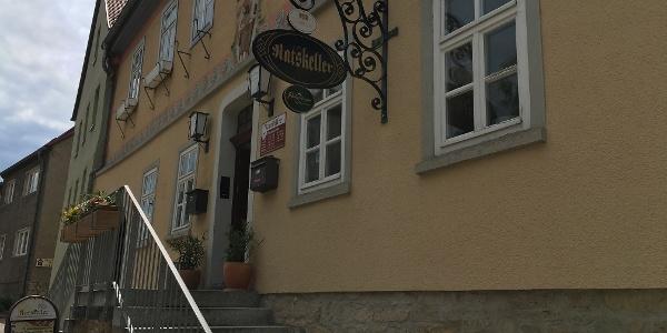 Eingang zum Ratskeller Dronburg