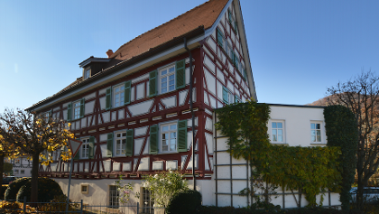 historisches Pfarrhaus aus dem Jahr 1589