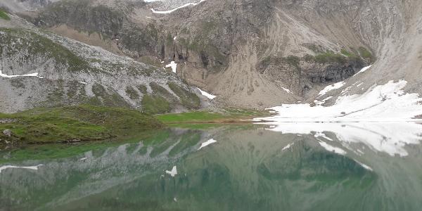 See hinter der Memminger Hütte