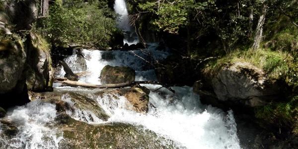 Waterfall Silandro/Schlanders