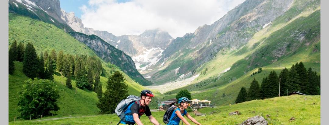 E-Mountainbiketour Braunwald