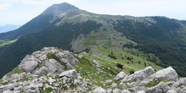 Weg zum Serra Dolcedorme IPV1B