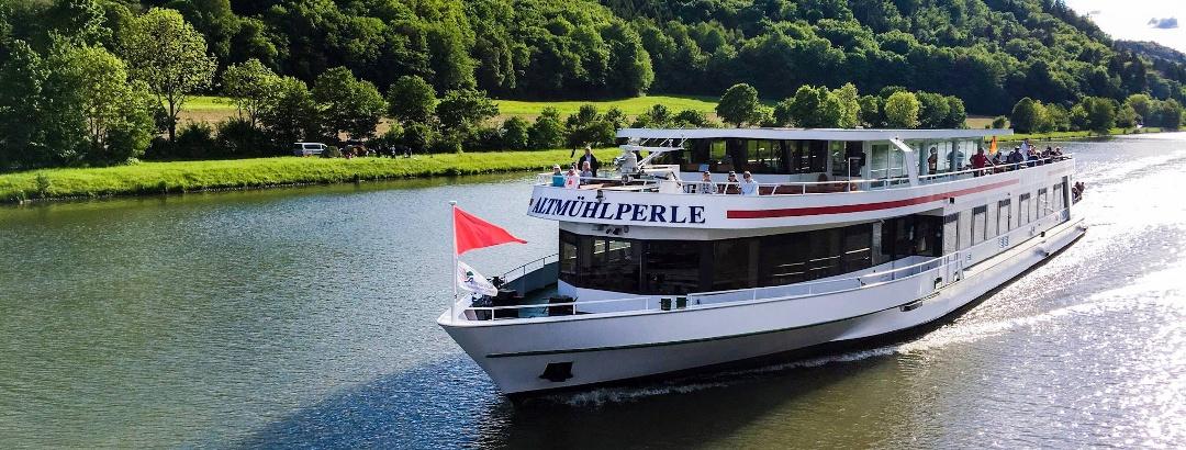"Ausflug mit dem Panoramaschiff ""Altmühlperle"""