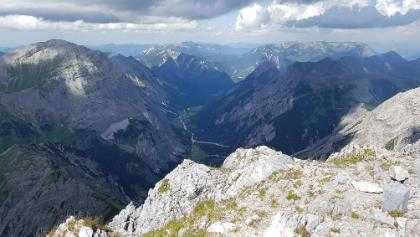 Blick vom Gipfel Richtung Engalm