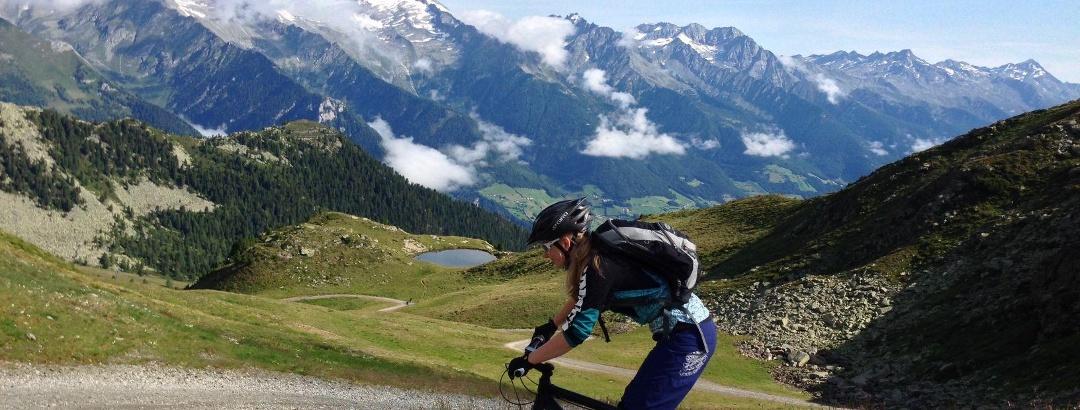 Mountain bike at Speikboden