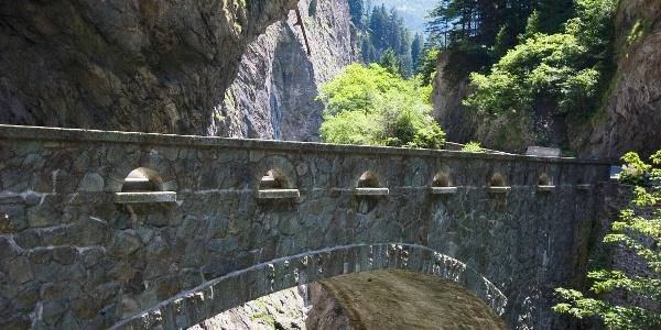 Wildener Brücke in der Viamala-Schlucht