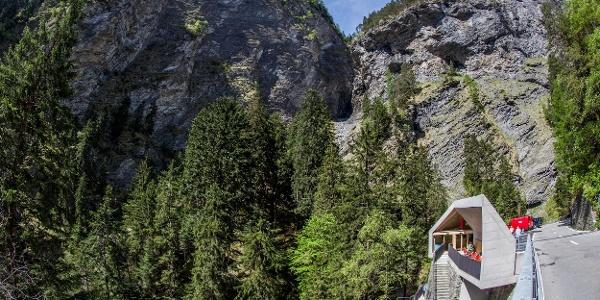 Besucherzentrum Viamala-Schlucht