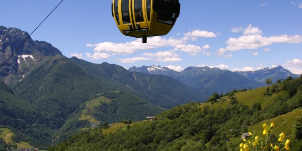 Cable car Verdasio-Monte Comino