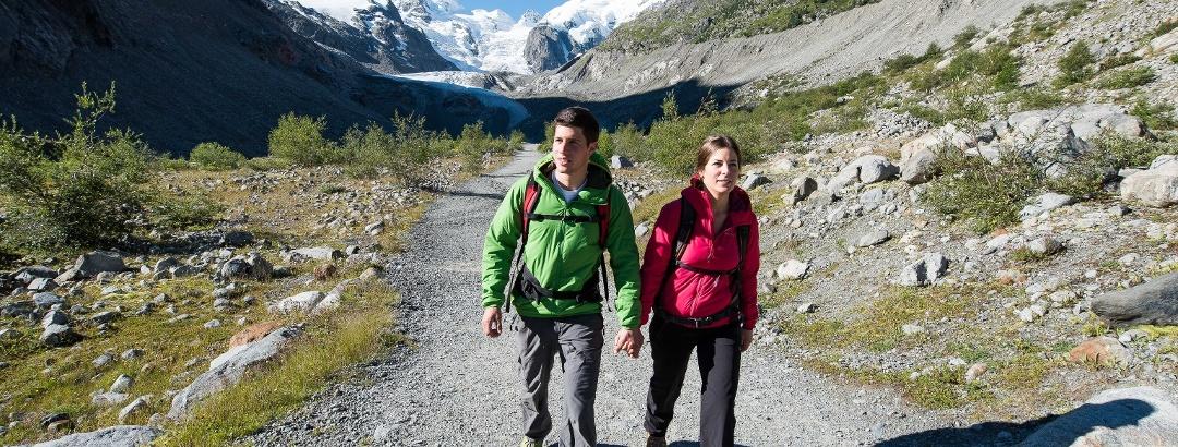 Gletscherweg Morteratsch
