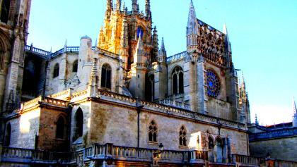 Abschied von der Kathedrale von Burgos