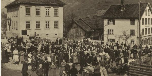 Dorfmarkt Wangs