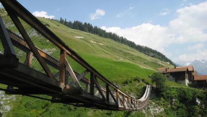 Hängebrücke Mutschnengia