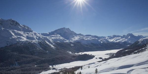 winter hiking Chantarella