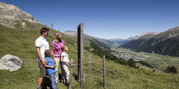 View of the Engadin