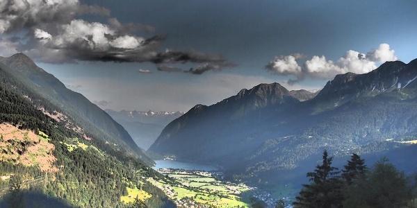 Sicht auf Val Poschiavo