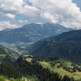 Aussicht oberhalb von Andiast